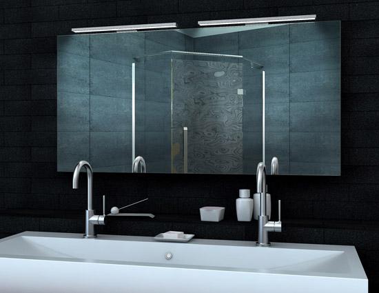 Design badezimmerspiegel mit heizfolie - Lux aqua spiegel ...