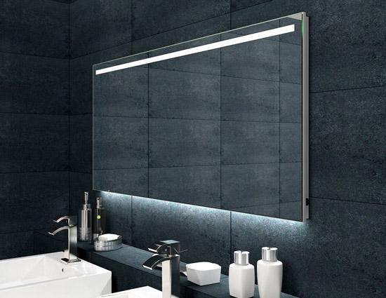 badezimmerspiegel alu rahmen led. Black Bedroom Furniture Sets. Home Design Ideas