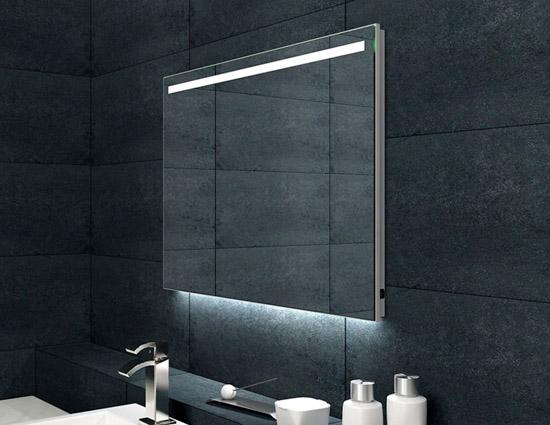 badspiegel beleuchtet led badspiegel beleuchtet mit led puro 989706543 led badspiegel. Black Bedroom Furniture Sets. Home Design Ideas