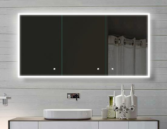 WwwLuxAquaDe  Alu Badschrank Badezimmer Spiegelschrank Bad Led