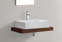 lux aqua holz waschtischplatte waschtischkonsole 0750dt. Black Bedroom Furniture Sets. Home Design Ideas