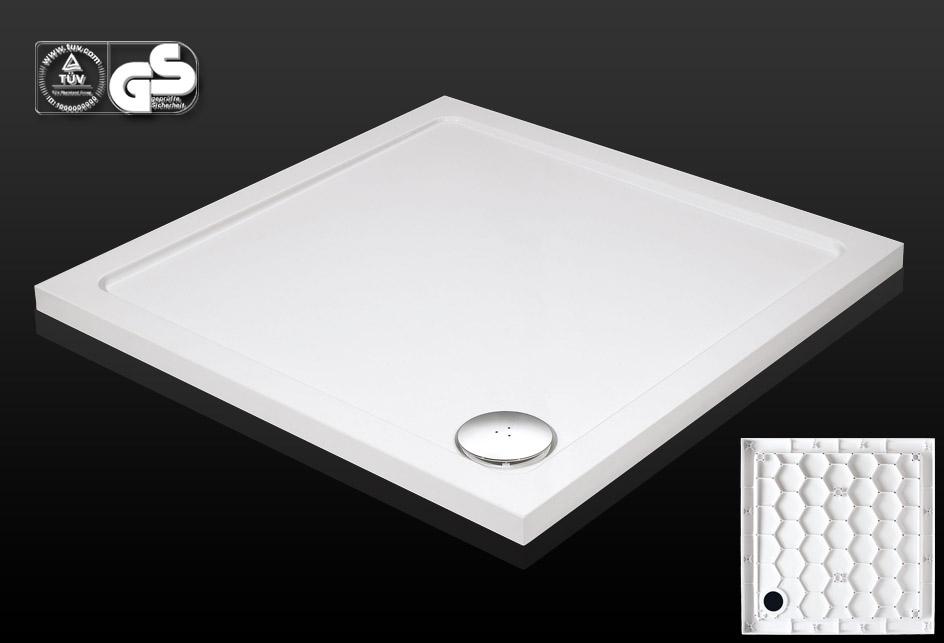duschwanne duschtasse dusche duschboard 90x90 cm inkl ablauf wanne duschkabine ebay. Black Bedroom Furniture Sets. Home Design Ideas