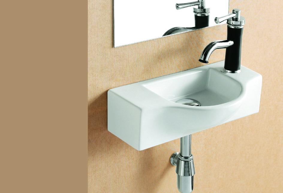 lux aqua waschbecken g ste wc handwaschbecken zur wandmontage neu 4523b hamburg. Black Bedroom Furniture Sets. Home Design Ideas