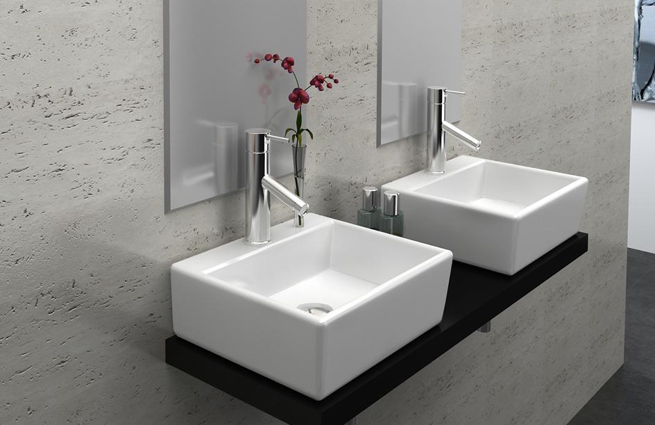 lux aqua waschbecken g ste wc waschbecken zur wandmontage neu 4549 4260452235146 ebay. Black Bedroom Furniture Sets. Home Design Ideas