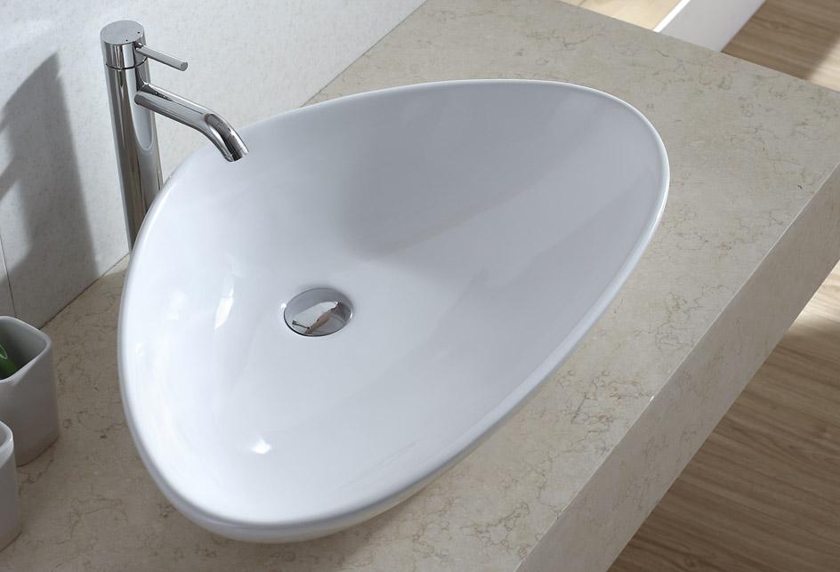 lux aqua design waschtisch keramik waschbecken. Black Bedroom Furniture Sets. Home Design Ideas