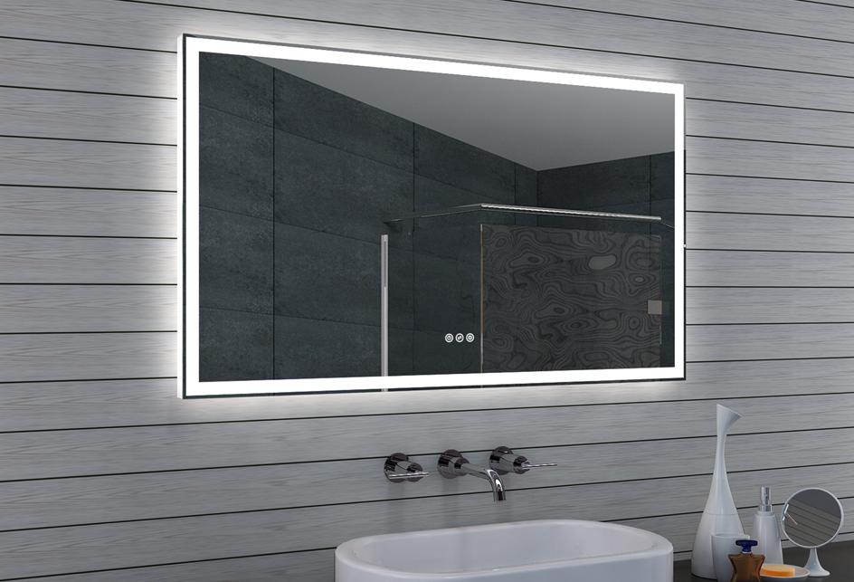 Lux aqua design badspiegel led mit multifunktions - Lux aqua spiegel ...