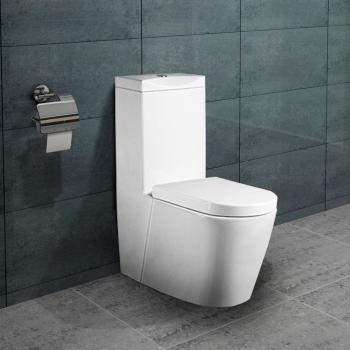 Relativ www.lux-aqua.de - Lux-aqua Design Keramik Stand WC mit Spülkasten DH79