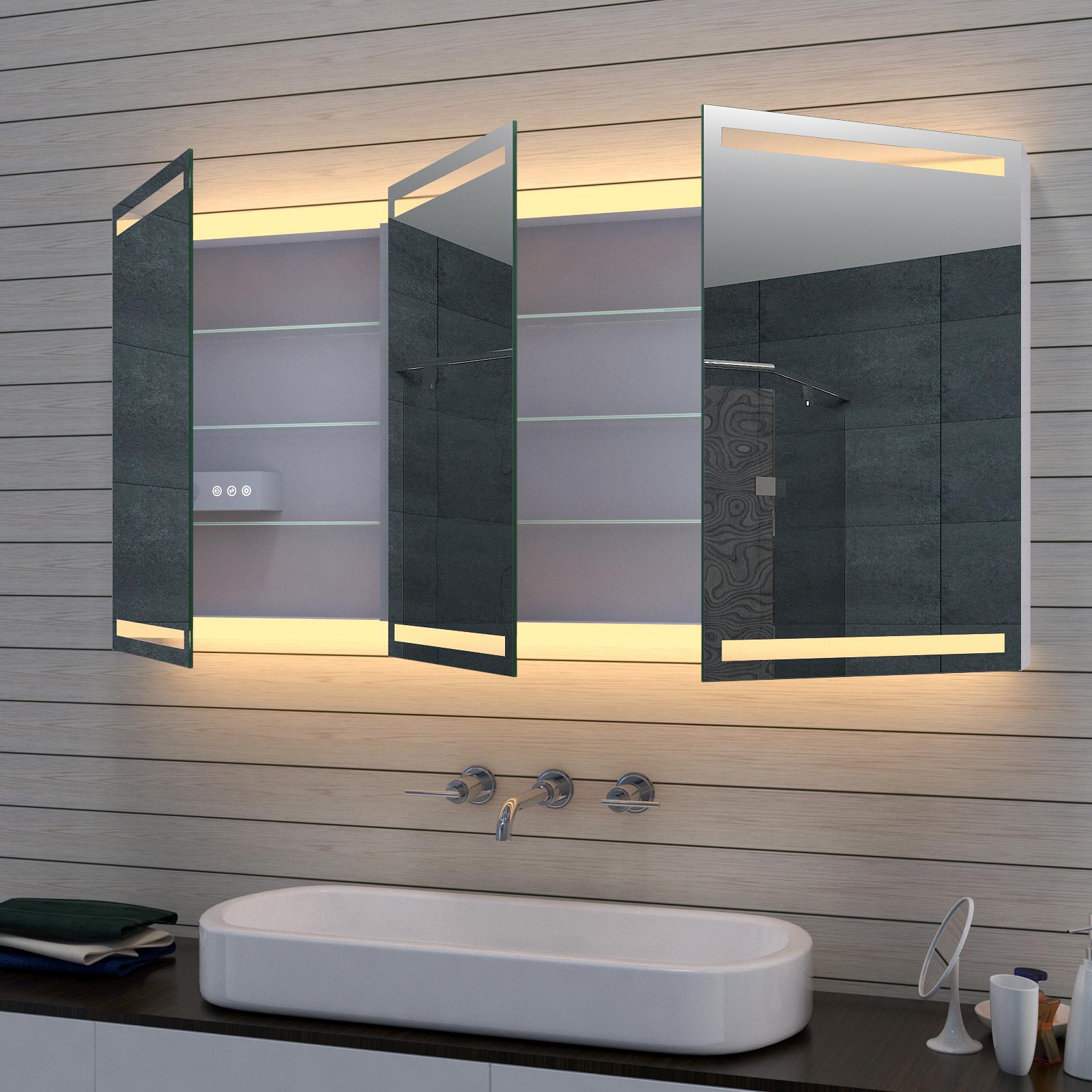 www.lux-aqua.de - Aluminium LED Kalt- /Warmlicht Badezimmer