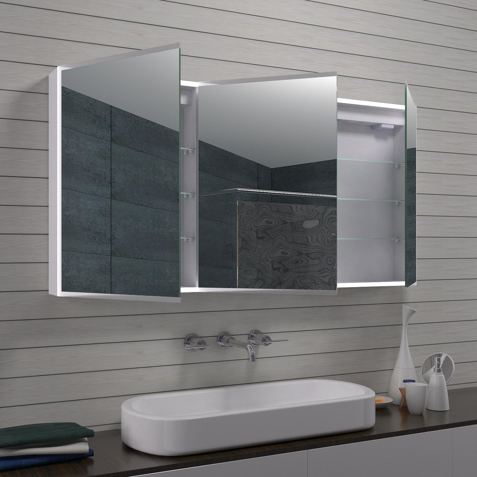 www.lux-aqua.de - Aluminium LED Beleuchtung Badezimmer