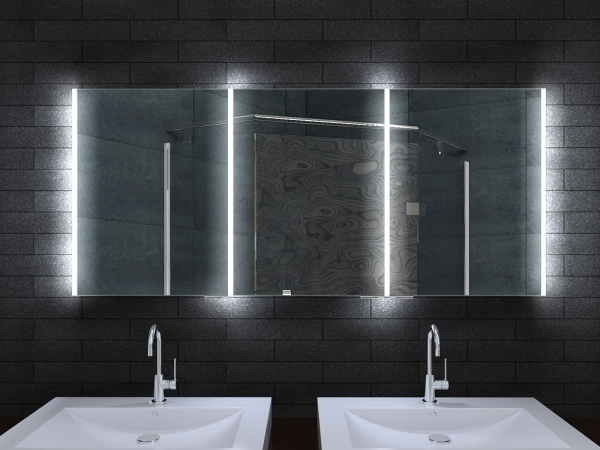 www.lux-aqua.de - Alu Badschrank badezimmer spiegelschrank ...