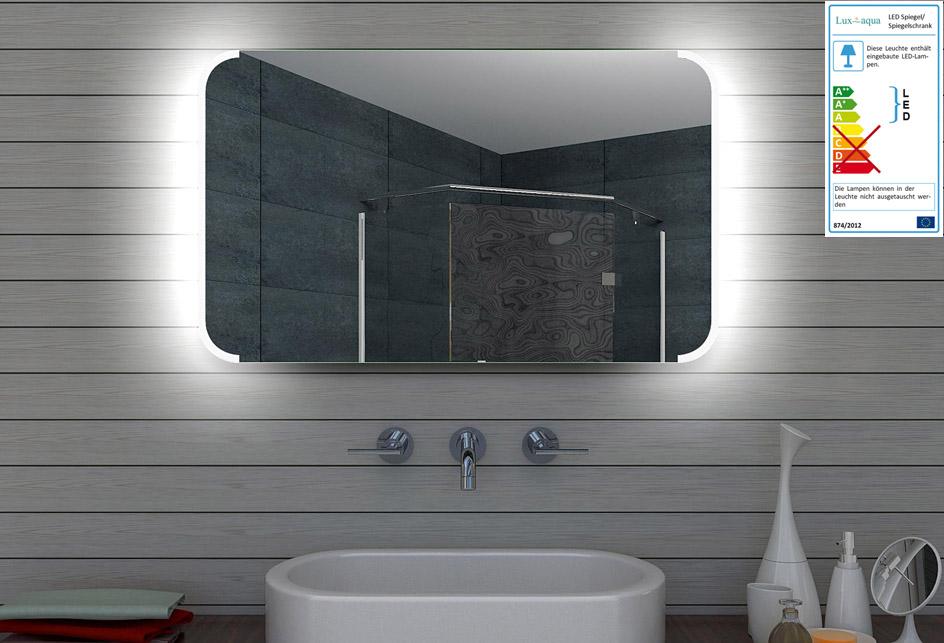 Badezimmerspiegel 60x60.Www Lux Aqua De Design Led Badezimmerspiegel Badspiegel Lichtspiegel Wandspiegel 100x60 Cm Ml100